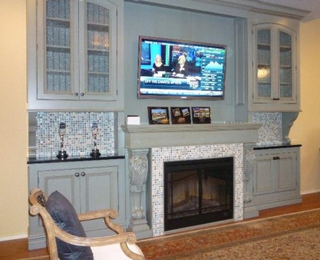 Tv Over Fireplace Futurehometech