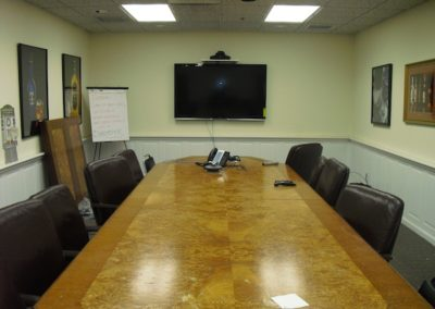 TV Installation in Conference Room