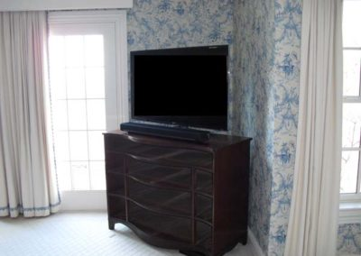 Bedroom TV with Sonos PlayBar, Warren, NJ